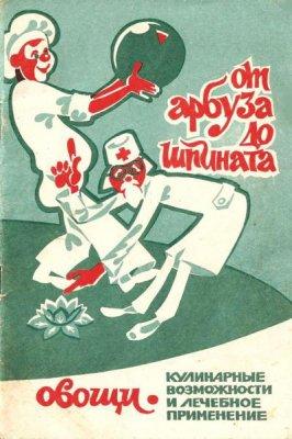 Розинкина А.А. - От арбуза до шпината. Овощи. Кулинарные возможности и лечебное применение (1991) djvu