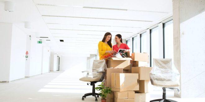 Переезд офиса в новый бизнес-центр